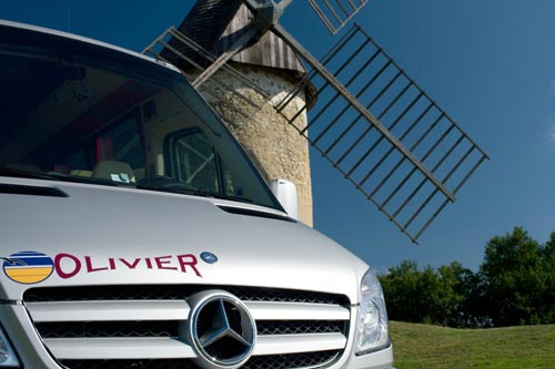 Location de minibus VIP Mercedes-Benz à Bordeaux en Gironde