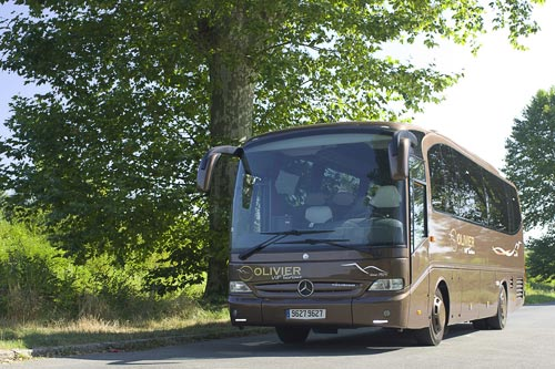 Mercedes-Benz Tourino VIP coach rental in Bordeaux in France