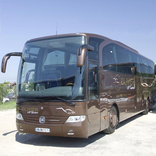 Mercedes-Benz Travego VIP coach rental in Bordeaux in France